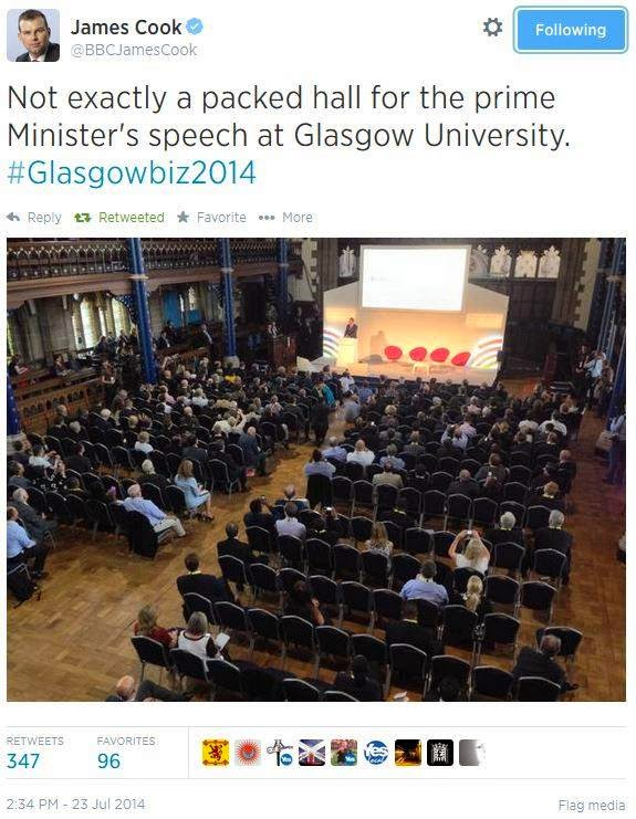 pm in glasgow uni