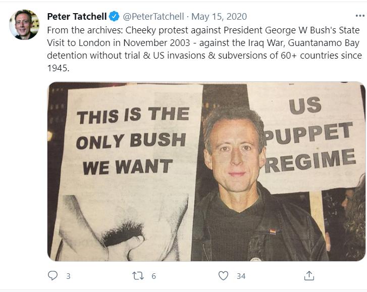 Membenci Peter Tatchell – Craig Murray